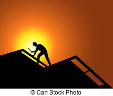 Roof clipart roofer #14
