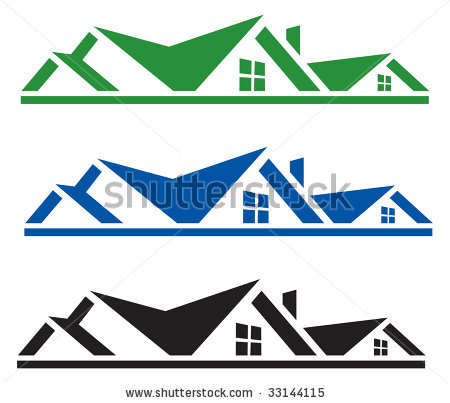 Rooftop clipart house outline Clip Art – Rooftop Rooftop
