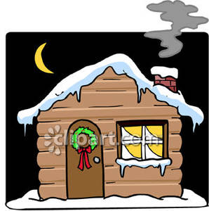 Night clipart cartoon Cagin Winter cliparts Animated Roof