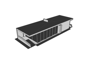 Rooftop clipart house outline #5