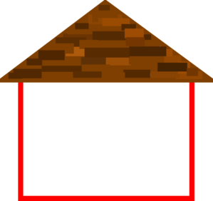 Hosue clipart roof With Clipart House Roof Roof