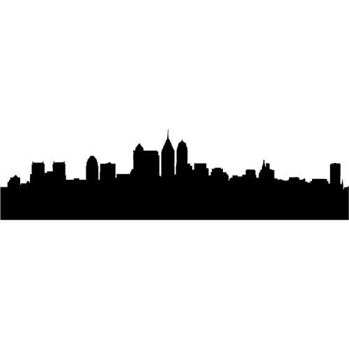 Rooftop clipart houston skyline Top the MEDIUM Silhouette images
