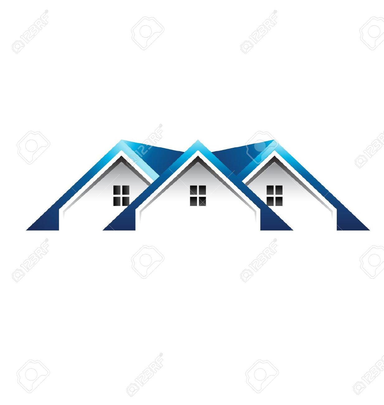 Hosue clipart roof Outline Roof House Clipart House