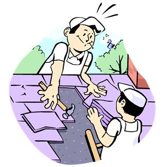 Rooftop clipart property maintenance GreatWay Roofing Roof Repair_031113
