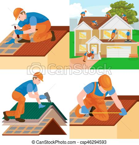 Rooftop clipart tiled roof #13
