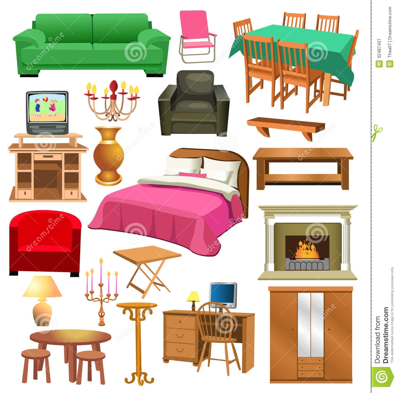 Room clipart background #12