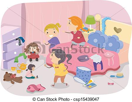 Room clipart cluttered room #10