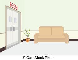 Room clipart hospital room #13