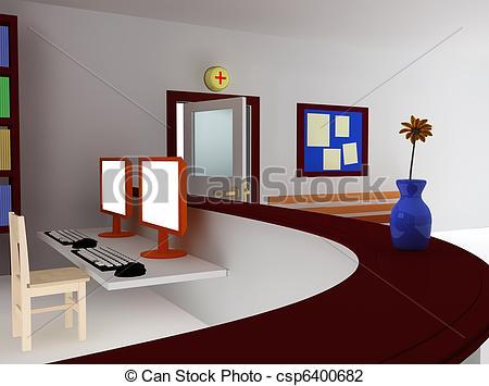 Room clipart hospital room #7