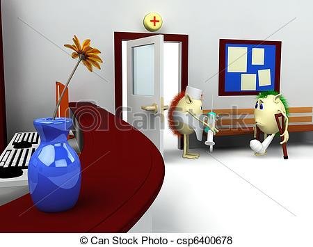 Room clipart hospital room #4