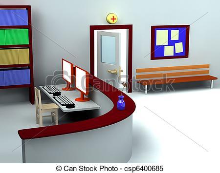 Room clipart hospital room #6