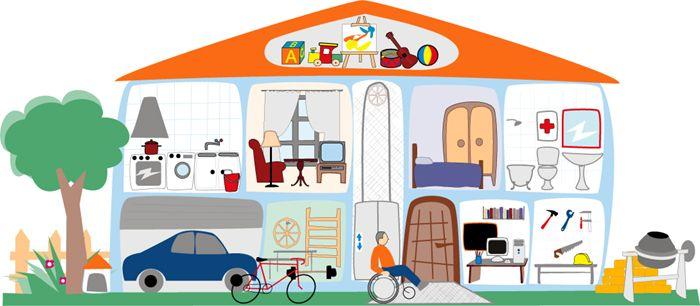 Room clipart la casa #11