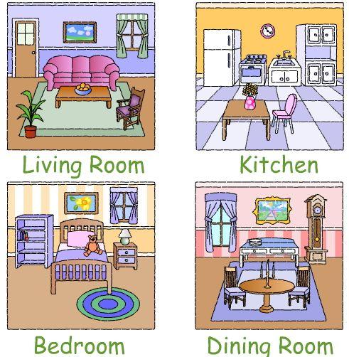 Room clipart la casa #8