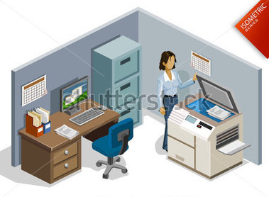Room clipart office room #8