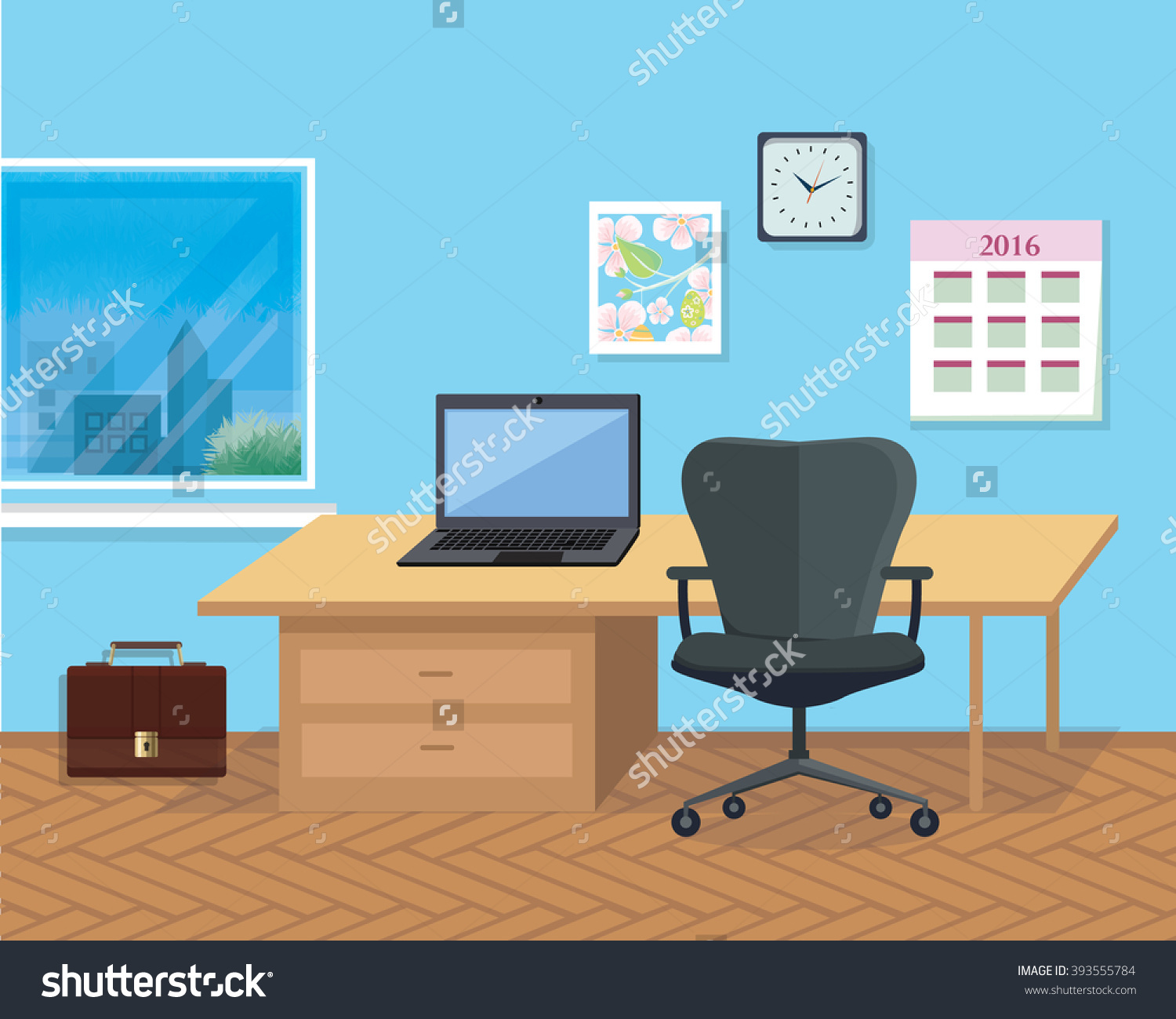 Room clipart office room #10