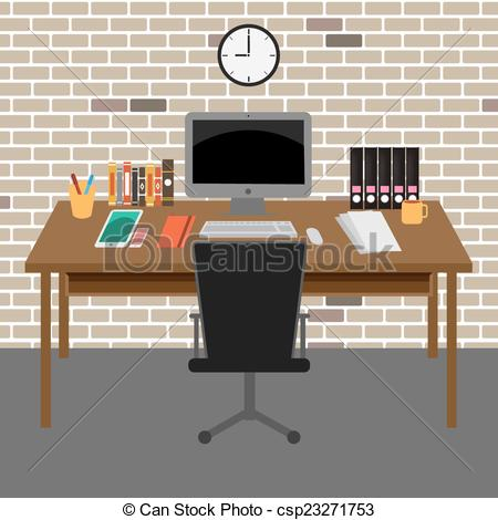 Room clipart office room #9