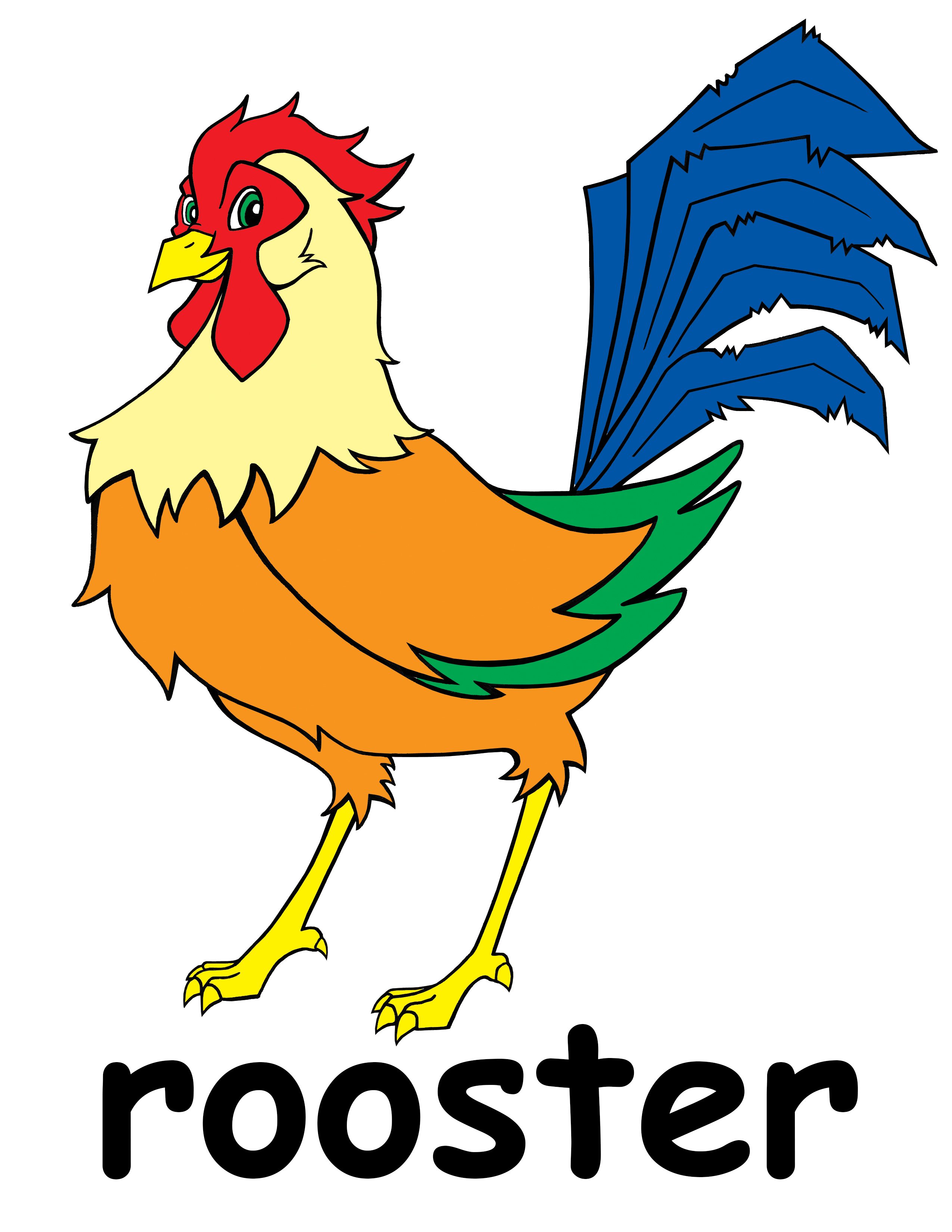 Animal clipart rooster Free Art Clip Rooster Clipart
