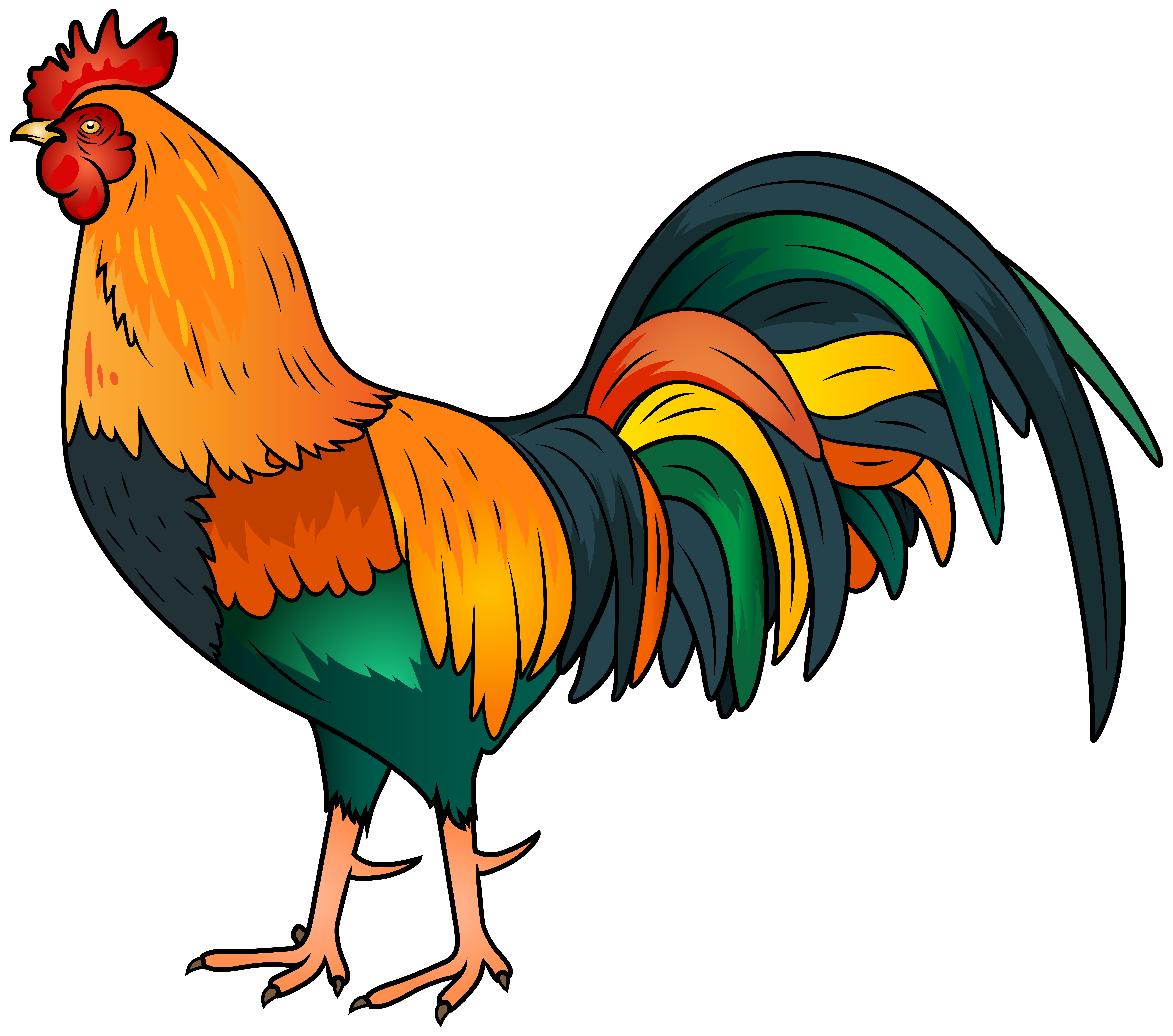 Rooster clipart Art Rooster Rooster image Clipartix