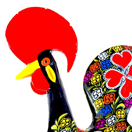 Rooster clipart barcelos #7