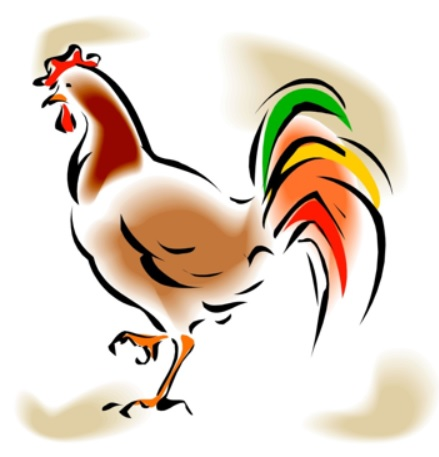 Rooster clipart breakfast #12