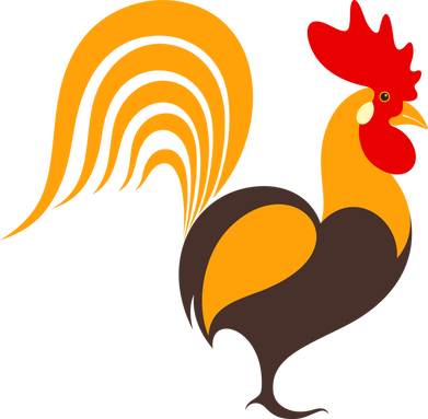 Rooster clipart breakfast #14