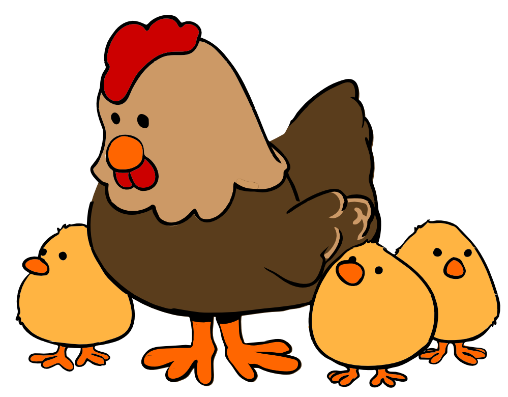 Rooster clipart lame #7