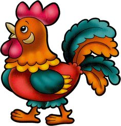 Rooster clipart peter #13