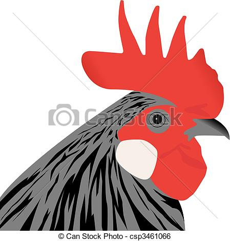 Rooster clipart rooster head #8