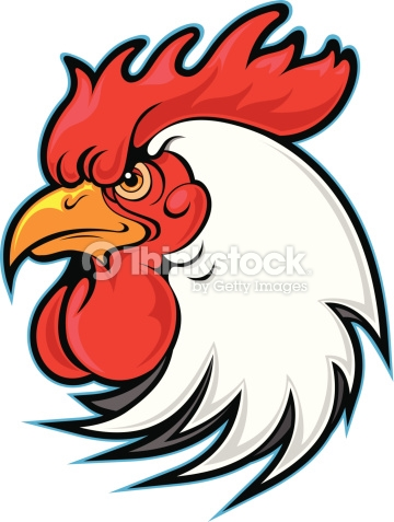 Rooster clipart rooster head #11