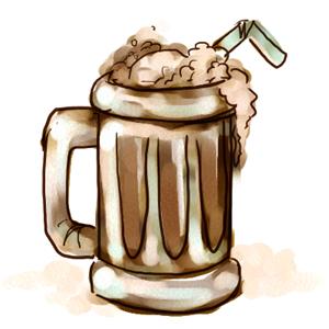 Soda clipart root beer Clipart float beer soda Root