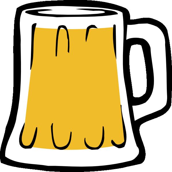 Beer clipart cartoon #4