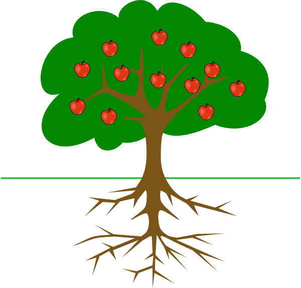 Roots clipart Clker vector Roots  Download