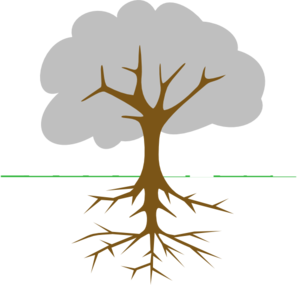 Roots clipart #14