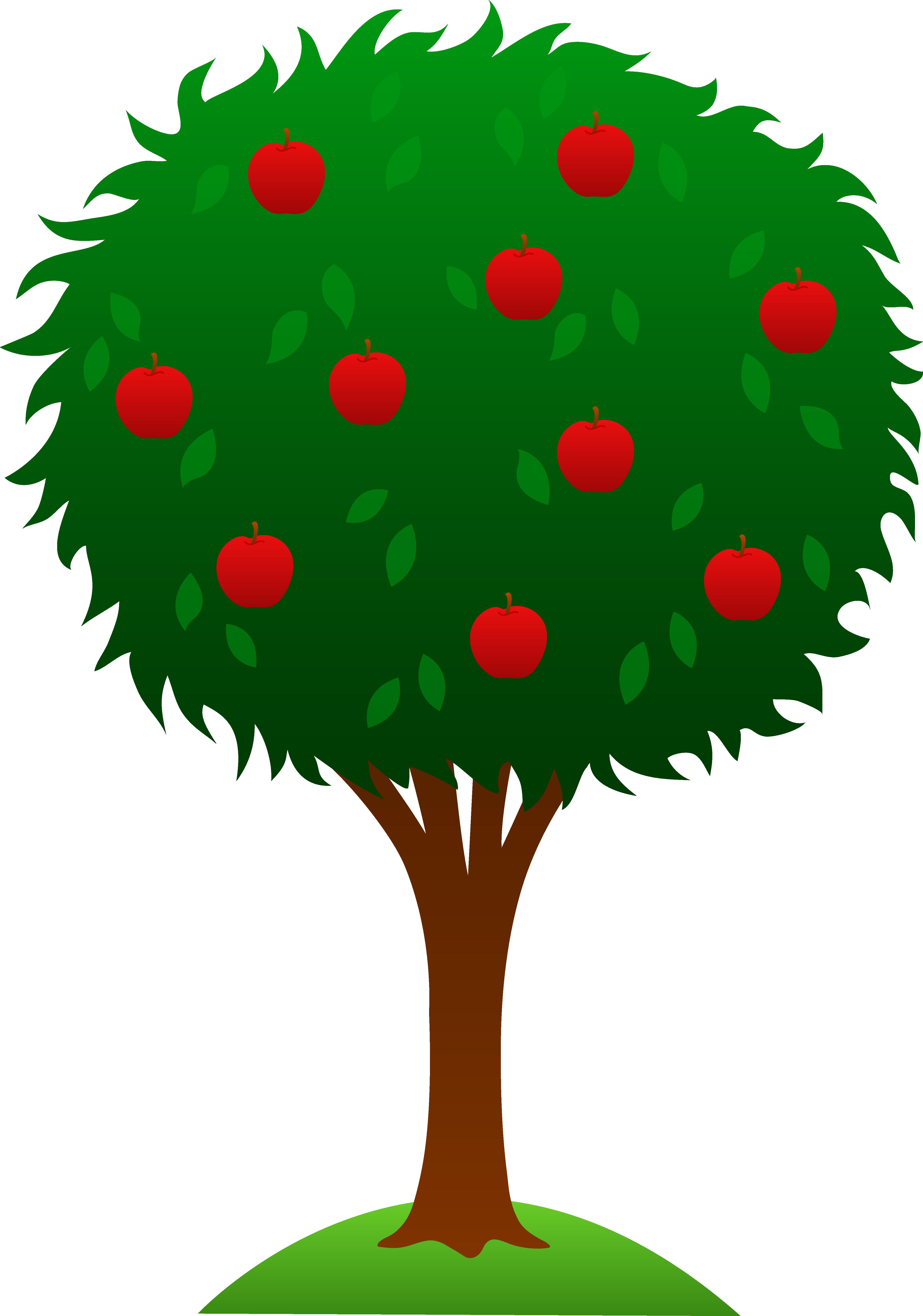 Season clipart apple tree #1