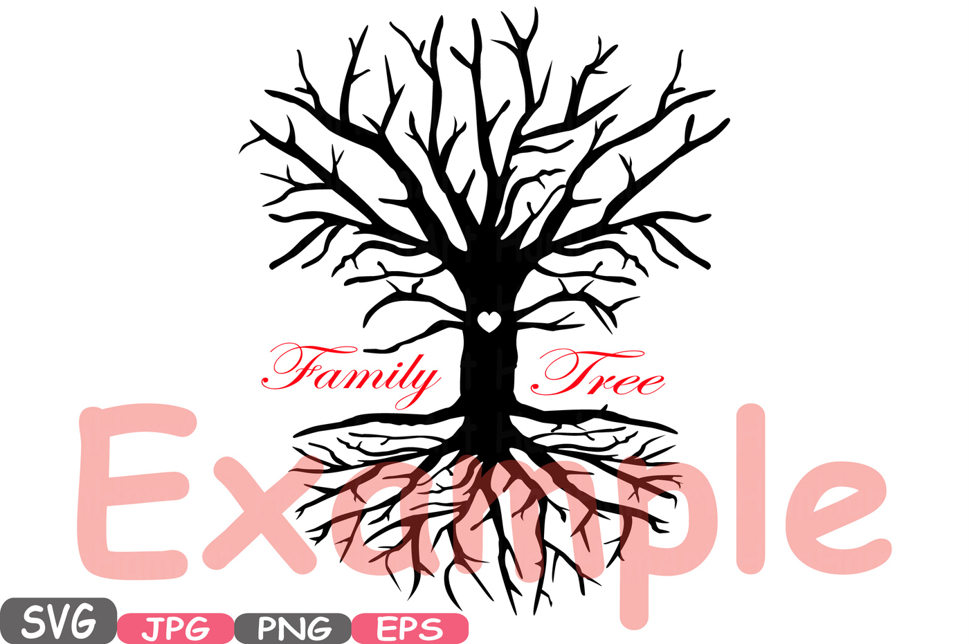 Roots clipart art Quote a family begin Family