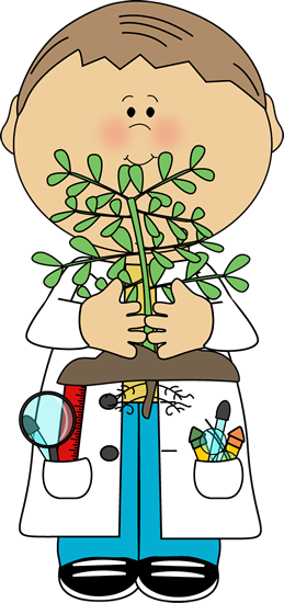 Roots clipart cute plant Scientist Plant with Science Boy