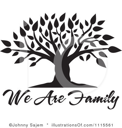 Saying clipart family heritage #5