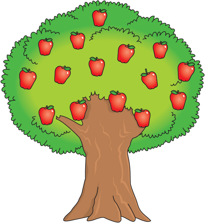 Orange (Fruit) clipart cartoon Free Clipart Tree Tree Clip