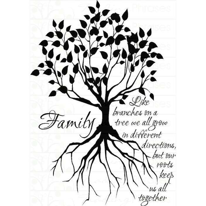 Saying clipart family heritage #3