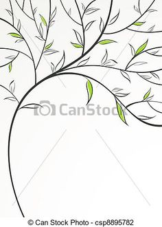 Roots clipart poplar Set art of tree from