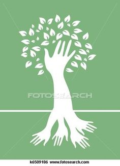 Roots clipart rooted tree #10
