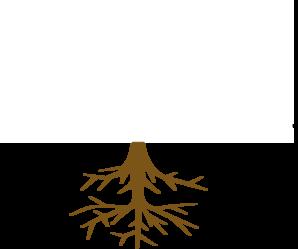 Roots clipart transparent Com Tree Clker art at