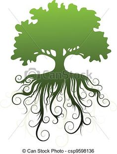 Roots clipart tree illustration  Illustration Logos Google images