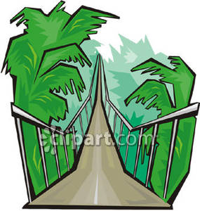 Rope Bridge clipart broken bridge Jungle the Picture Bridge Jungle