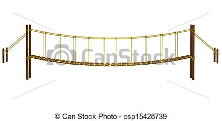 Rope Bridge clipart broken bridge Clipart and bridge bridge Clip