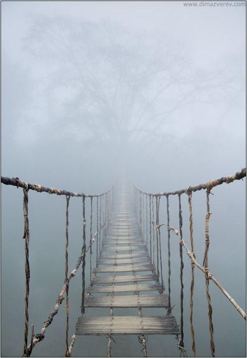 Rope Bridge clipart gap Bridge the scary Nepal bridges