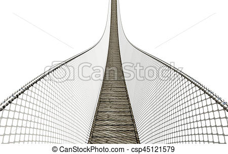 Rope Bridge clipart wodden #10