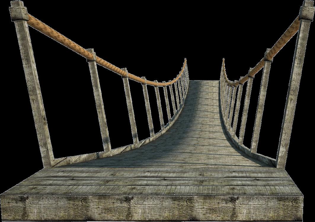 Rope Bridge clipart wood suspension 2 fumar Wooden Wooden PNG