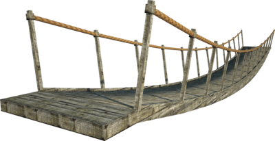 Rope Bridge clipart wood suspension On Stock fumar DeviantArt Bridge