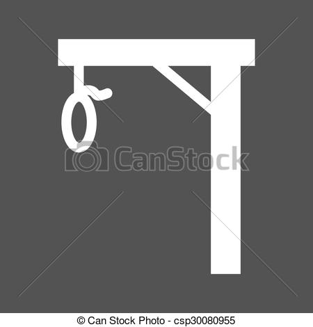 Rope clipart gallows #7